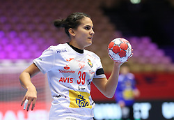 HERNING, DENMARK - DECEMBER 3, 2020: Almudena Rodriguez of Spain during the EHF Euro 2018 Group C match between Russia and Spain in Jyske Bank Boxen, Herning, Denmark on December 3 2020. Photo Credit: Allan Jensen/EVENTMEDIA.