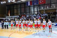 Equipe Ajaccio - 04.12.2014 - Ajaccio / Izmir - 1/8finale Cev Cup<br />Photo : Jean Pierre Belzit / Icon Sport