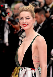 Amber Heard attending the Sorry Angel Premiere as part of the 71st Cannes Film Festival