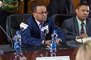 Koningin Maxima bezoekt de National Bank of Ethiopia tijdens haar tweedaags bezoek aan het land als VN gezant voor Inclusieve Financiering.<br /> <br /> Queen Maxima visits the National Bank of Ethiopia during her two-day visit to the country as a UN envoy for Inclusive Financing.