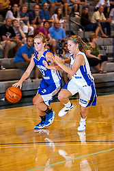 18 June 2011: Caitlin Hermann Allie Norton at the 2011 IBCA (Illinois Basketball Coaches Association) girls all star games.