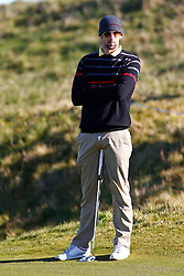 04.10.2012, Old Course, St. Andrews, SCO, European Golf Tour, Alfred Dunhill Links Championship, im Bild Olympic gold medalist Michael Phelps // during the European Golf Tour, Alfred Dunhill Links Championship at the Old Course, St. Andrews, Scotland on 2012/10/04. EXPA Pictures © 2012, PhotoCredit: EXPA/ Mitchell Gunn