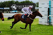Edged Out ridden by Poppy Bridgewater and trained by Christopher Mason in the Best Free Tips At Valuerater.Co.Uk Handicap (Bath Summer Sprint Series Qualifier)(Class 6) race. - Ryan Hiscott/JMP - 07/08/2019 - PR - Bath Racecourse - Bath, England - Race Meeting at Bath Racecourse