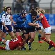 20170204 Rugby, RBS 6 nazioni femminile : Italia vs Galles