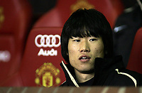Photo: Paul Thomas.<br /> Manchester United v Middlesbrough. The FA Cup, Quarter Final replay. 19/03/2007.<br /> <br /> Ji-sung Park of Utd starts from the bench.
