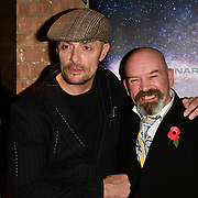 Sean Cronin and Derek Carey Vernon arrivers at Eleven Film Premiere at Picture House Central, Piccadilly Circus on 10 November 2018, London, Uk.
