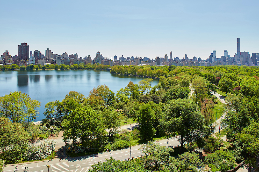 View of Central Park from 300 Central Park West, 15th floor