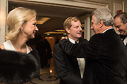 THE EARL OF DERBY; THE COUNTESS OF DERBY; ARNAUD BAMBERGER, Cartier 25th Racing Awards, the Dorchester. Park Lane, London. 10 November 2015