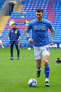 Cardiff City's Kieffer Moore (10) in action during the EFL Sky Bet Championship match between Cardiff City and Millwall at the Cardiff City Stadium, Cardiff, Wales on 30 January 2021.