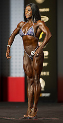 Sept.16, 2016 - Las Vegas, Nevada, U.S. -  BRITTANY CAMPBELL competes in the Figure Olympia contest during Joe Weider's Olympia Fitness and Performance Weekend.(Credit Image: © Brian Cahn via ZUMA Wire)