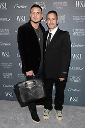 (L-R) Charly Defrancesco and Marc Jacobs attend the WSJ. Magazine 2017 Innovator Awards at MOMA in New York, NY, on November 1, 2017. (Photo by Anthony Behar/Sipa USA)