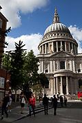St. Paul's Cathedral in the City of London.