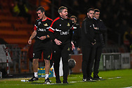 Grant McCann, Manager of Doncaster Rovers shouts out instructions to his players during the EFL Sky Bet League 1 match between Doncaster Rovers and Sunderland at the Keepmoat Stadium, Doncaster, England on 23 October 2018.