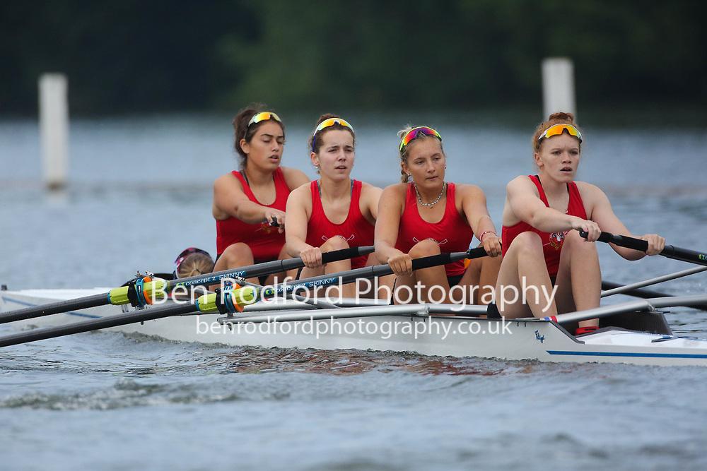 Marlow RC <br /> <br /> Junior 4+  Time Trial<br /> <br /> Henley Women's Regatta 2021<br /> Saturday