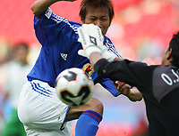 Fotball, 16. juni 2005, <br /> Conferderations Cup Japan - Mexico <br /> Atsushi YANAGISAWA Japan<br />  Norway only