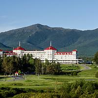 Spring evening at the Mount Washington Hotel.