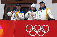 OL 2006 Langrenn,<br />Pragelato Plan<br />18.02.06 <br />Foto: Sigbjørn Hofsmo, Digitalsport <br /><br />Kong Carl Gustaf SWE Sverige