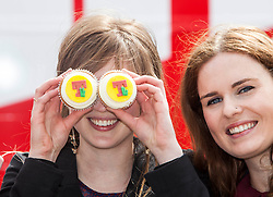 Jenni Henderson, Orla Mulligan. The Vigo Thieves perform at the T in the Park Promo at QMU, Queen Margaret Drive, Musselburgh..© Michael Schofield..