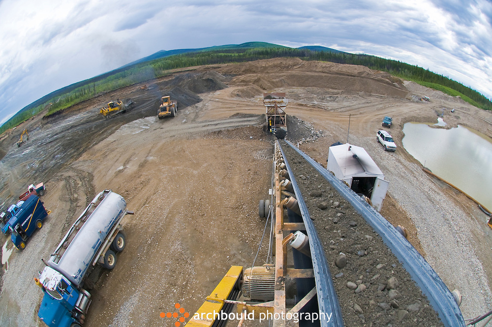 Large gold mining operation in the Dawson region of the Yukon.<br /> <br /> NOT IN YOUR BUDGET? Contact Cathie for a price specific to your project.