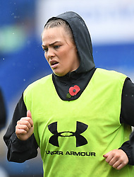 Wales Kelsey Jones<br /> Wales Women v South Africa Women<br /> Autumn International<br /> <br /> Photographer Mike Jones / Replay Images<br /> Cardiff Arms Park<br /> 10th November 2018<br /> <br /> World Copyright © 2018 Replay Images. All rights reserved. info@replayimages.co.uk - http://replayimages.co.uk