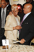 New York, NY-January 31: (L-R) Recording Artist Dionne Warwick and Music Executive Berry Gordy and Rev. Jesse L. Jackson, founder, Rainbow PUSH attend the16th Annual Wall Street Project Gala Fundraiser Reception with special Tribute to Berry Gordy, Jr and Motown Recordings held at the Roosevelt Hotel on January 31, 2013. The Rainbow PUSH Coalition is a progressive organization protecting, defending and expanding civil rights to improve economics and educational opportunity. (Terrence Jennings))