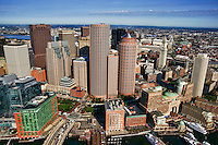 Downtown Boston featuring the Financial District
