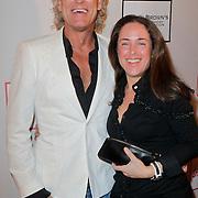 NLD/Amsterdam/20120204 - 30ste Verjaardag Richy Brown, John Heuckeroth en een vriendin