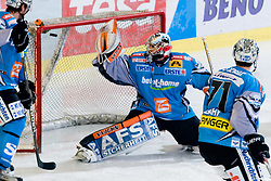 Alex Westlund (EHC Liwest Black Wings Linz, #32) during ice-hockey match between HDD Tilia Olimpija and EHC Liwest Black Wings Linz in 19th Round of EBEL league, on November 7, 2010 at Hala Tivoli, Ljubljana, Slovenia. (Photo By Matic Klansek Velej / Sportida.com)