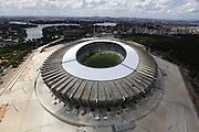 Belo Horizonte_MG, Brasil.<br /> <br /> Imagem aerea do Mineirao (Governador Magalhaes Pinto) na Pampulha.<br /> <br /> Aerial view of Mineirao (Governador Magalhaes Pinto) in Pampulha.<br /> <br /> Foto: MARCUS DESIMONI / NITRO