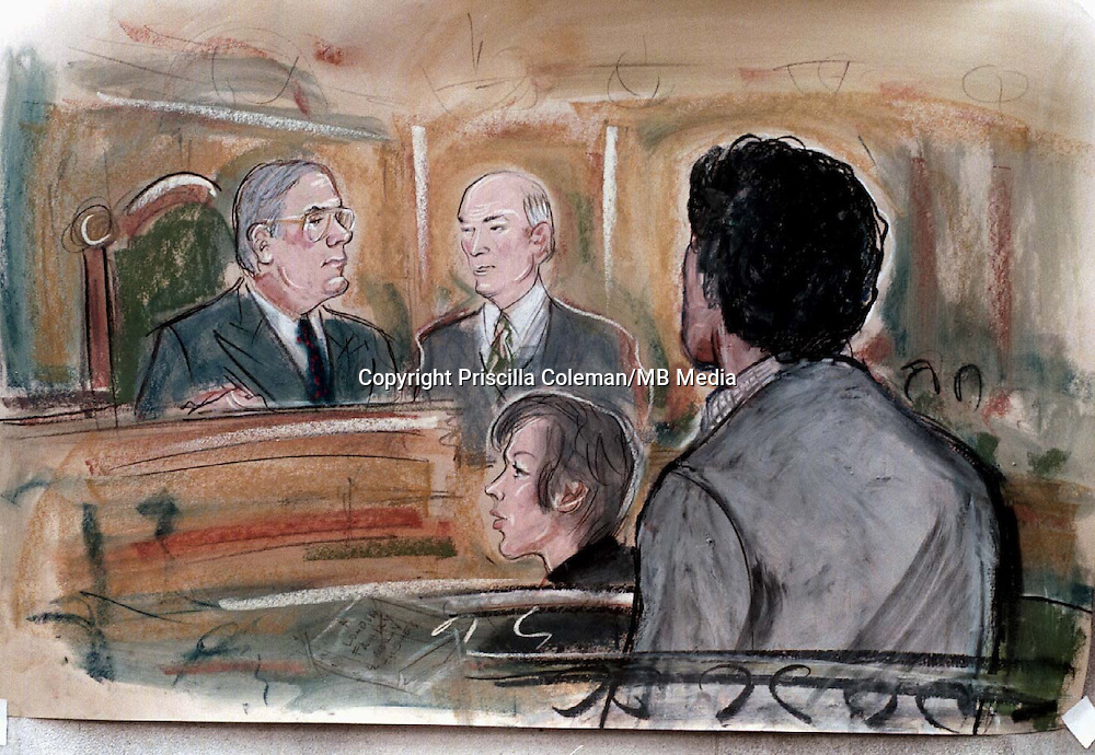 SUPPLIED BY: PHOTONEWS SERVICE/OLD BAILEY/..PIC SHOWS-(BACK VIEW)   RICHARD TOMLINSON AT BOW ST MAGISTRATES COURT TODAY 3/11/97 HE IS THE FIRST MI6 SPY TO BE PROSECUTED SINCE GEORGE BLAKE...© PRISCILLA COLEMAN/ITN NEWS AT TEN