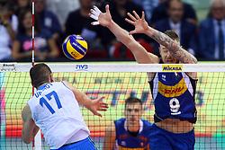 IVAN ZAYTSEV BLOCKS<br /> ITALY VS SLOVENIA<br /> MEN'S VOLLEYBALL WORLD CHAMPIONSHIPS <br /> Florence September 18, 2018