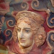 Facade Sculpture British Museum - London, UK