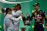 HAMILTON Lewis (Gbr) Mercedes Gp Mgp W05 ambiance portrait VETTEL Sebastian (Ger) Red Bull Renault Rb10 ambiance portrait  during the 2014 Formula One World Championship, Japan Grand Prix from October 3rd to 5th 2014 in Suzuka. Photo DPPI