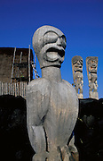 Pu'uhonua O Honaunau National Park, City of Refuge, Island of Hawaii, Hawaii, USA<br />