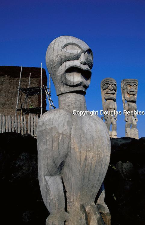 Pu'uhonua O Honaunau National Park, City of Refuge, Island of Hawaii, Hawaii, USA<br />