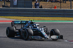 November 3, 2019, Austin, TX, USA: AUSTIN, TX - NOVEMBER 03: Mercedes AMG Petronas Motorsport driver Valtteri Bottas (77) of Finland enters turn 11 during the F1 - U.S. Grand Prix race at Circuit of The Americas on November 3, 2019 in Austin, Texas. (Photo by Ken Murray/Icon Sportswire) (Credit Image: © Ken Murray/Icon SMI via ZUMA Press)