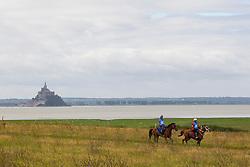 Abdelkader Aouini, (YUN), Nesseb, Jeremy Olson, Wallace Hill Shade, (USA)<br /> Alltech FEI World Equestrian Games™ 2014 - Normandy, France.<br /> © Hippo Foto Team - Leanjo de Koster<br /> 25/06/14