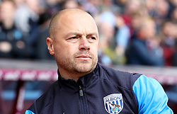 West Bromwich Albion caretaker head coach James Shan during the game