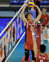 31-05-2014 NED: WLV Nederland - Zuid Korea, Eindhoven<br /> Min-Gyu Lee