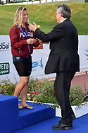 Stefania Pirozzi Bronze Medal, Paolo Barelli <br /> Women's 400m Freestyle <br /> Roma 21/06/2019 Stadio del Nuoto Foro Italico <br /> FIN 56 Trofeo Sette Colli 2019 Internazionali d'Italia<br /> Photo Andrea Staccioli/Deepbluemedia/Insidefoto