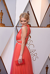 March 4, 2018 - Los Angeles, California, U.S. - SAMARA WEAVING arrives on the red carpet for the 90th Annual Academy Awards at the Dolby Theatre. (Credit Image: © Kevin Sullivan via ZUMA Wire)