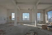 L'interno dell'ex fabbrica Sapio. Bari, 07 gennaio 2014. Christian Mantuano / OneShot