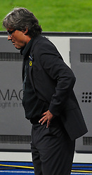 03.06.2011, Ernst Happel Stadion, Wien, AUT, UEFA EURO 2012, Qualifikation, Oesterreich (AUT) vs Deutschland (GER), im Bild  Didi Constantini, (AUT, Headcoach) // during the UEFA Euro 2012 Qualifier Game, Austria vs Germany, at Ernst Happel Stadium, Vienna, 2010-06-03, EXPA Pictures © 2011, PhotoCredit: EXPA/ M. Gruber