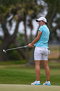Carlota Ciganda (ESP) watches her putt on 10 during round 2 of the 2019 US Women's Open, Charleston Country Club, Charleston, South Carolina,  USA. 5/31/2019.<br /> Picture: Golffile | Ken Murray<br /> <br /> All photo usage must carry mandatory copyright credit (© Golffile | Ken Murray)