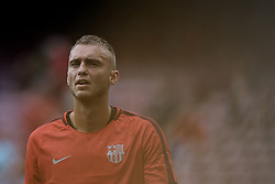 September 18, 2018 - Barcelona, Barcelona, Spain - Jasper Cillessen of FC Barcelona looks on prior to the UEFA Champions League group B match between FC Barcelona and PSV Eindhoven at Camp Nou on September 18, 2018 in Barcelona, Spain  (Credit Image: © David Aliaga/NurPhoto/ZUMA Press)