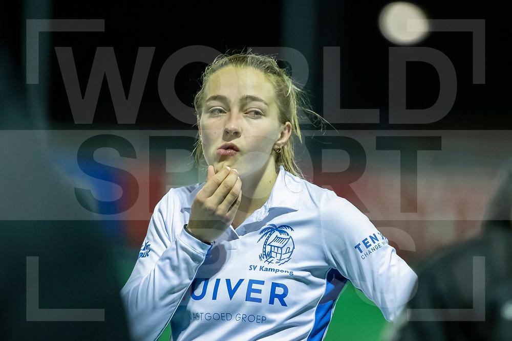 Laren, Hoofdklasse Hockey Dames, Seizoen 2020-2021, 15-04-2021, Laren - Kampong 2-1, Renee van Laarhoven (Kampong)<br /> COPYRIGHT WORLDSPORTPICS WILLEM VERNES