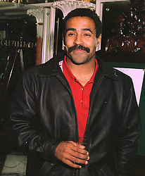 DALEY THOMPSON the former Olympic decathlon champion, at a dinner in London on 29th October 1997.MCP 18