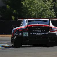#91, Porsche Motorsport, Porsche 911 RSR (2017), driven by: Richard Lietz, Frederic Makowiecki, Patrick Pilet, 24 Heures Du Mans, 14/06/2017,