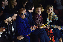 Noomi Rapace, Anna Wintour and Sienna Miller attending the Louis Vuitton show as part of the Paris Fashion Week Womenswear Fall/Winter 2018/2019 in Paris, France on March 06, 2018. Photo by Aurore Marechal/ABACAPRESS.COM