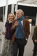 ALLEGRA HICKS; ROBERTO MOTTOLA, Opening of Frieze Masters, Regents Park, London 12 October 2015